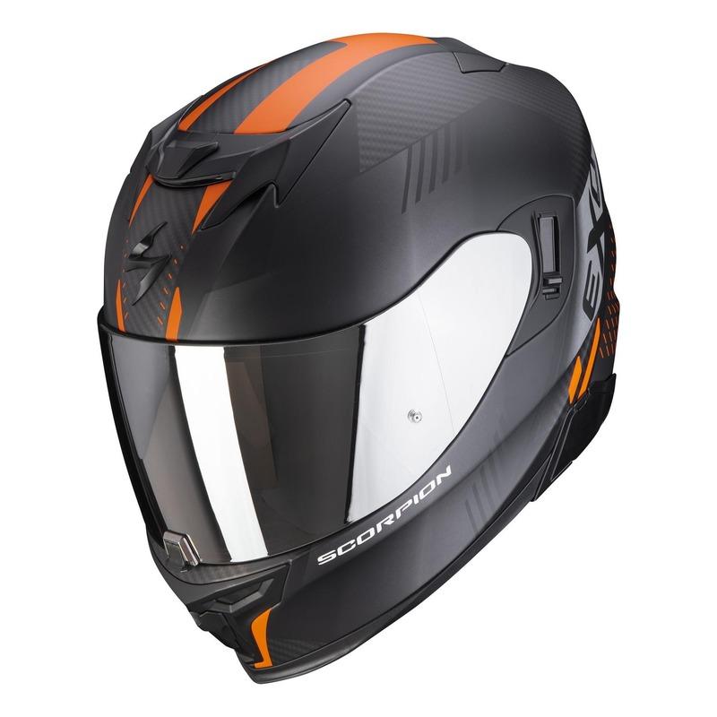 Casque intégral Scorpion EXO-520 Air Laten Mat noir/orange