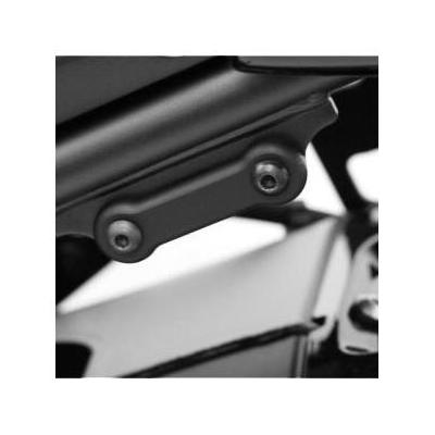 Cache orifice de repose-pieds arrière gauche R&G Racing noirs Yamaha FZ8 10-16