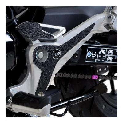 Adhésif anti-frottements R&G Racing noir platines repose-pieds Honda MSX 125 16-18