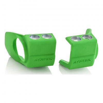 Protections pieds de fourches Acerbis Honda CRF 250R 09-18 vert