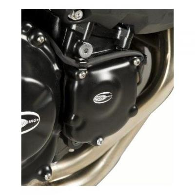 Couvre carter de démarreur R&G Racing noir Kawasaki Z 750 06-13