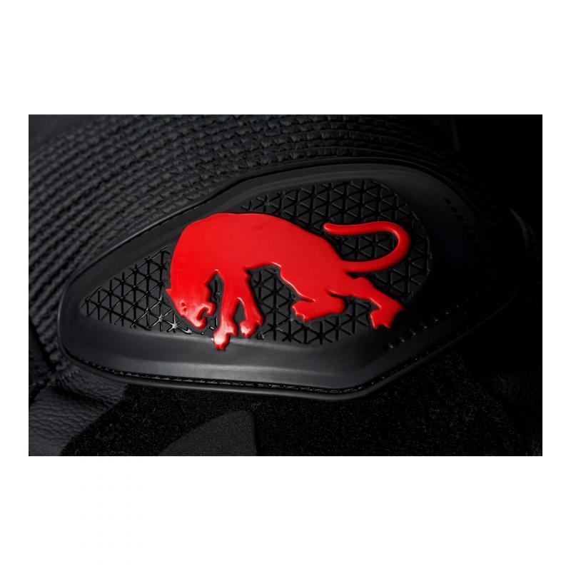 Pantalon cuir Furygan Raptor Evo noir/rouge - 8