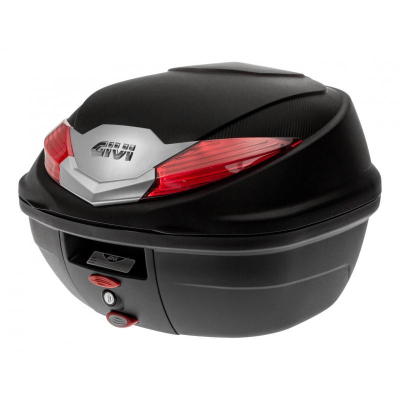 Top case Givi B360 Monolock 36L noir avec platine/kit fixation