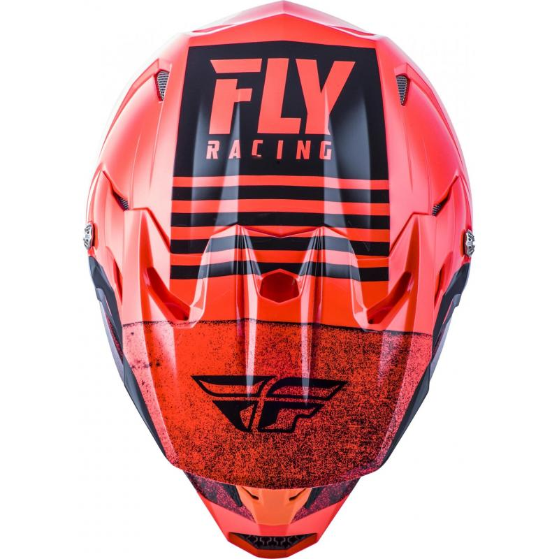 Casque cross Fly Racing Toxin Mips Embargo rouge/noir - 2