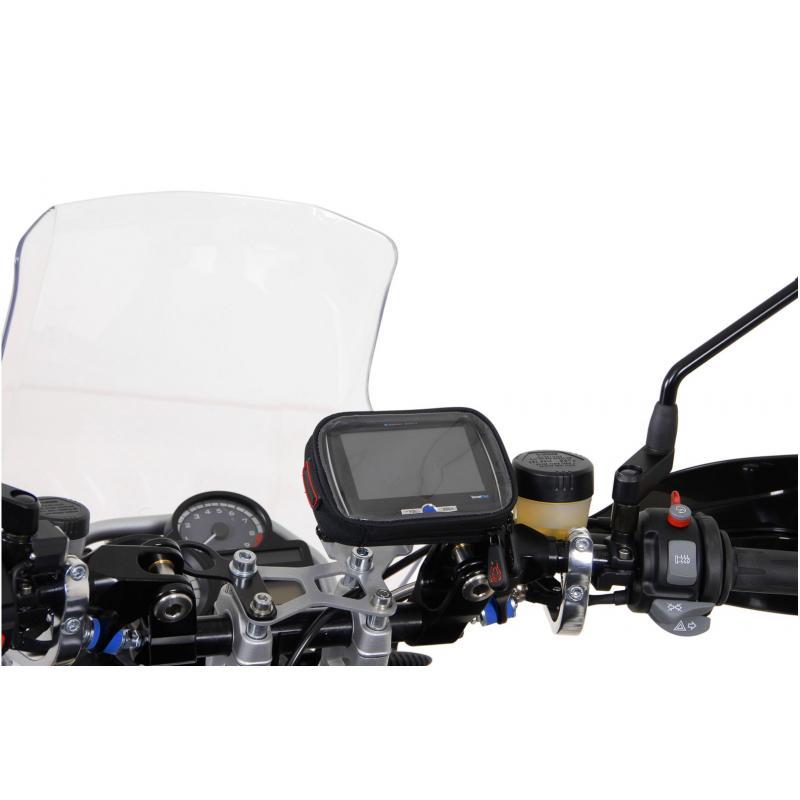 Clip adaptateur SW-MOTECH pour GPS noir - 3