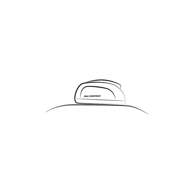 Sacoche de réservoir SW-MOTECH EVO Micro noir gris - 3