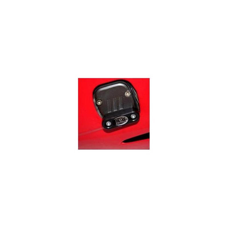 Slider moteur gauche R&G Racing noir Benelli Cafe Racer 1130 04-17