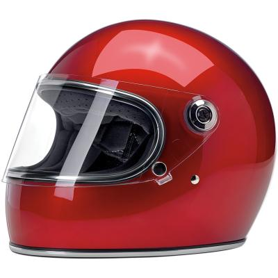 Casque intégral Biltwell Gringo S métallisé rouge