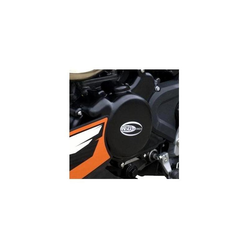 Couvre carter gauche (alternateur) R&G Racing noir KTM 125 Duke 11-15