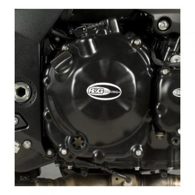 Couvre carter d'embrayage R&G Racing noir Kawasaki Z 750 06-13
