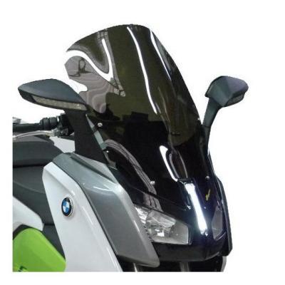 Pare-brise Bullster haute protection 63 cm fumé noir BMW C Evolution 14-18