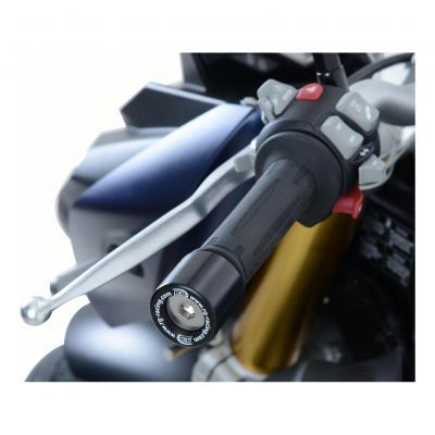 Embouts de guidon R&G Racing noir BMW S 1000 RR 10-14