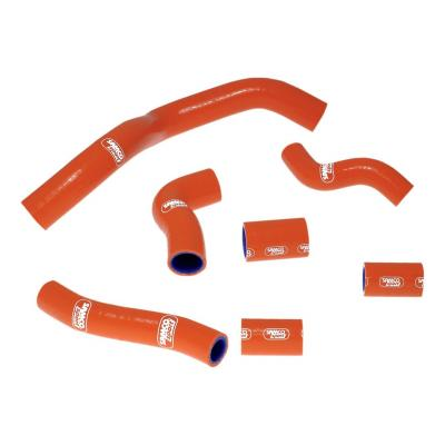 Durites de radiateur Samco Sport type origine KTM 950 Adventure 02-05 orange (7 durites)