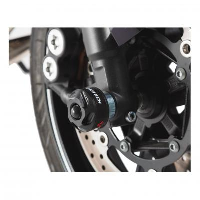 Protection de fourche avant SW-MOTECH noir Kawasaki Versys 650 07-09 / 15-