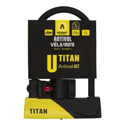 Antivol U Auvray Titan 245 avec support