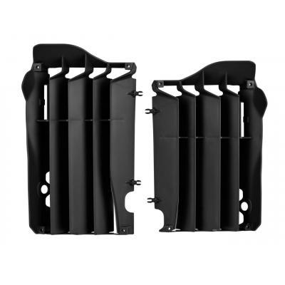 Caches de radiateur Polisport Kawasaki 250 KX-F 13-16 noir
