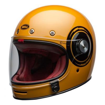 Casque intégral Bell Bullitt DLX Bolt brillant jaune/noir