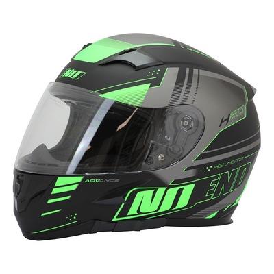 Casque intégral Noend H20-Advance by ASD Racing noir/vert