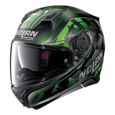 Casque intégral Nolan N87 Venator N-Com Mat noir/vert