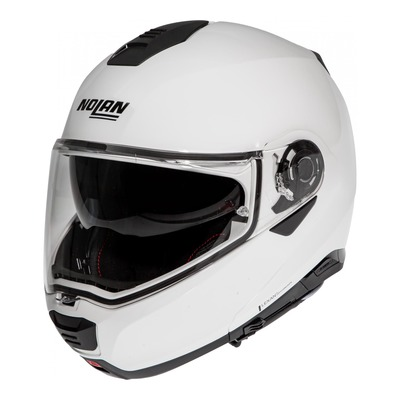 Casque modulable Nolan N100-5 Special N-Com Pure white