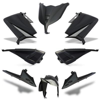 Kit carénage BCD sans poignées / avec rétro Tmax 530 15-16 noir