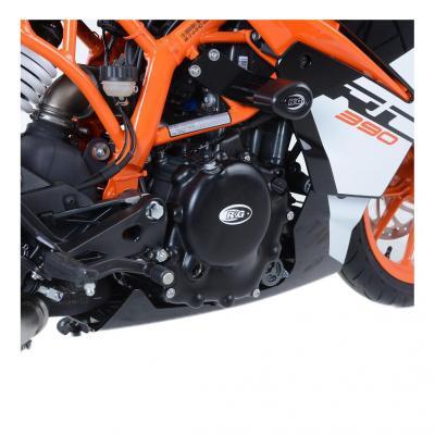 Kit couvre carter moteur R&G Racing noir KTM RC 390 17-18
