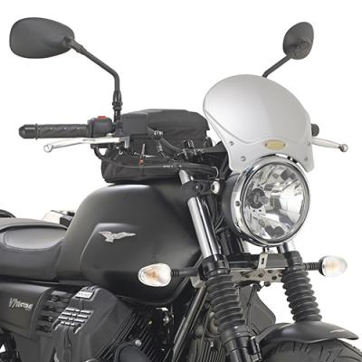 Kit de fixation Givi pour bulle 100AL/100ALB/140A/140S Moto Guzzi V7 III Stone 2017