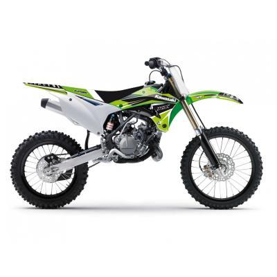 Kit déco Blackbird Racing Dream 4 Kawasaki 85 KX 14-19 vert/blanc/noir