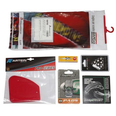 Kit entretien avec freinage AJP Peugeot TKR / Trekker / Speedfight