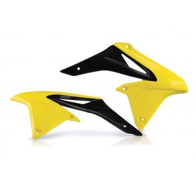 Ouïes de radiateur Acerbis Suzuki 250 RMZ 10-17 jaune/noir (paire)