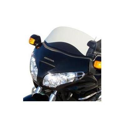 Pare-brise Bullster très bas 51 cm incolore Honda GL 1800 Goldwing 01-15