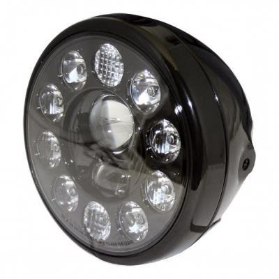 Phare LED Highsider Reno type 1 fixations latérales noir