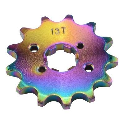 Pignon de sortie de boîte Doppler néochrome 420 13 dents Derbi Senda / GPR