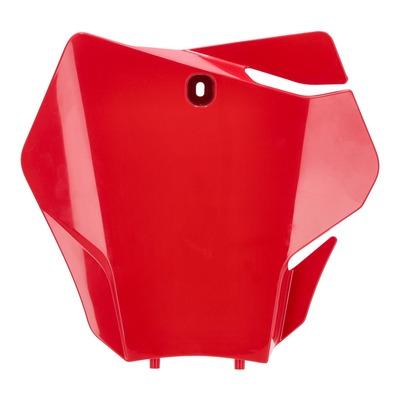 Plaque numéro frontale Acerbis Gas Gas 125 MC 2021 rouge