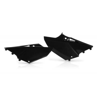 Plaques numéro latérales Acerbis Yamaha 125/250 YZ 2015 noir (paire)