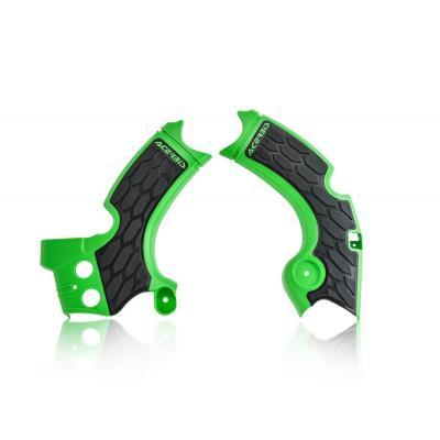 Protection de cadre Acerbis Kawasaki 250 KX-F 15-18 noir/vert