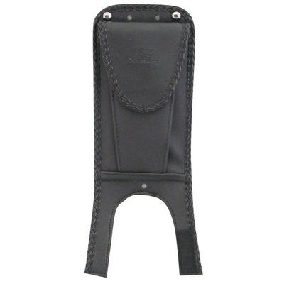 Protection de réservoir Mustang avec poche Softail Heritage 00-17 lisse noir