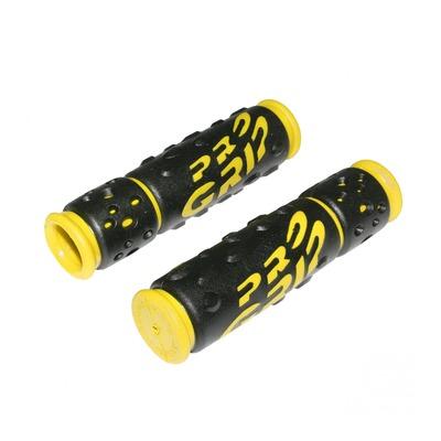 Revêtements de poignées vélo Progrip 953 noir/jaune