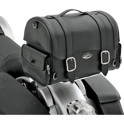 Sacoche de sissy bar Saddlemen Express Drifter Trunk noire