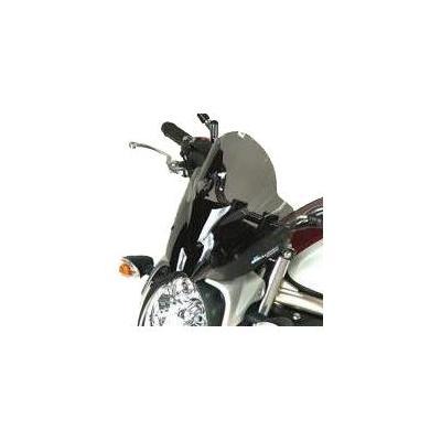 Saute-vent Bullster haute protection 31 cm fumé noir Suzuki SFV 650 Gladius 09-14
