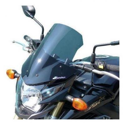Saute-vent Bullster haute protection 36,5 cm fumé noir Suzuki GSR 750 11-16