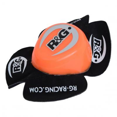 Sliders de genoux R&G Racing orange