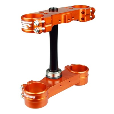Té de fourche Scar offset origine KTM 125 SX 13-21 orange