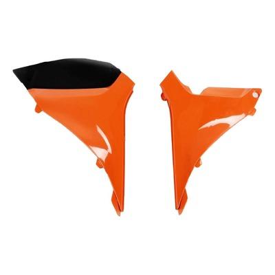 Cache de boîte à air UFO KTM 250 SX-F 2011 orange (orange KTM 98-12)