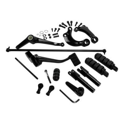 Repose pieds commandes avancées Drag Specialties Sportster 04-13 noir
