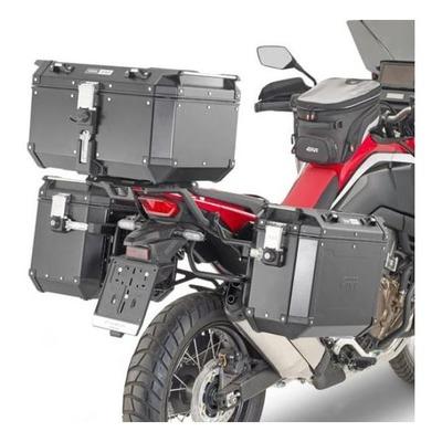 Supports de valises latérales Givi ONE-FIT (PLO) pour système Monokey Cam-Side Honda CRF 1100L Afric