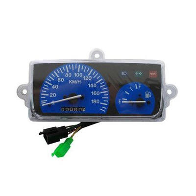 Compteur bleu 180 Km/h MBK Booster / Yamaha BW'S 99-03