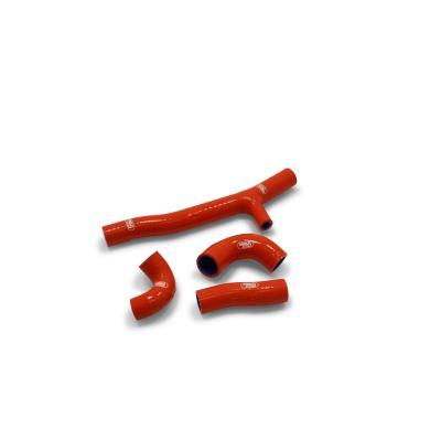 Durites de radiateur Samco Sport type origine KTM 250 EXC TPI 2020 bleu (4 durites)