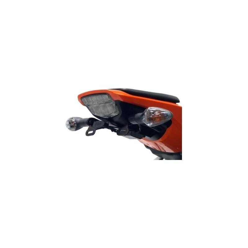 Support de plaque d'immatriculation R&G Racing noir Honda CBR 1000 RR 10-11