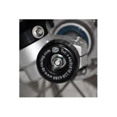 Tampons de protection de fourche R&G Racing noirs Triumph Street Triple 07-16
